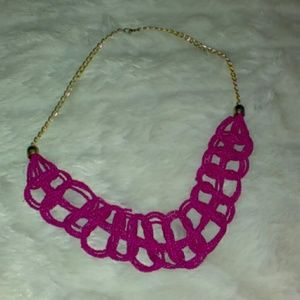 Unbranded Jewelry - Pink Beaded Statement Necklace